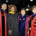 Marie Cornelia, 2nd from Right, Commencement Speaker 2010marie cornelia commencement